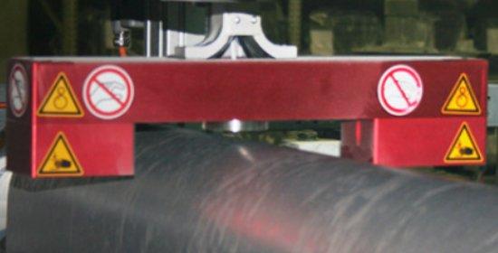 Измерение профиля внутреннего материала футеровки