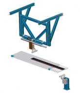 Измерение длины полос протектора